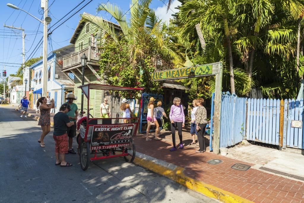 Key West is een gezellig en mooi stadje om doorheen te wandelen