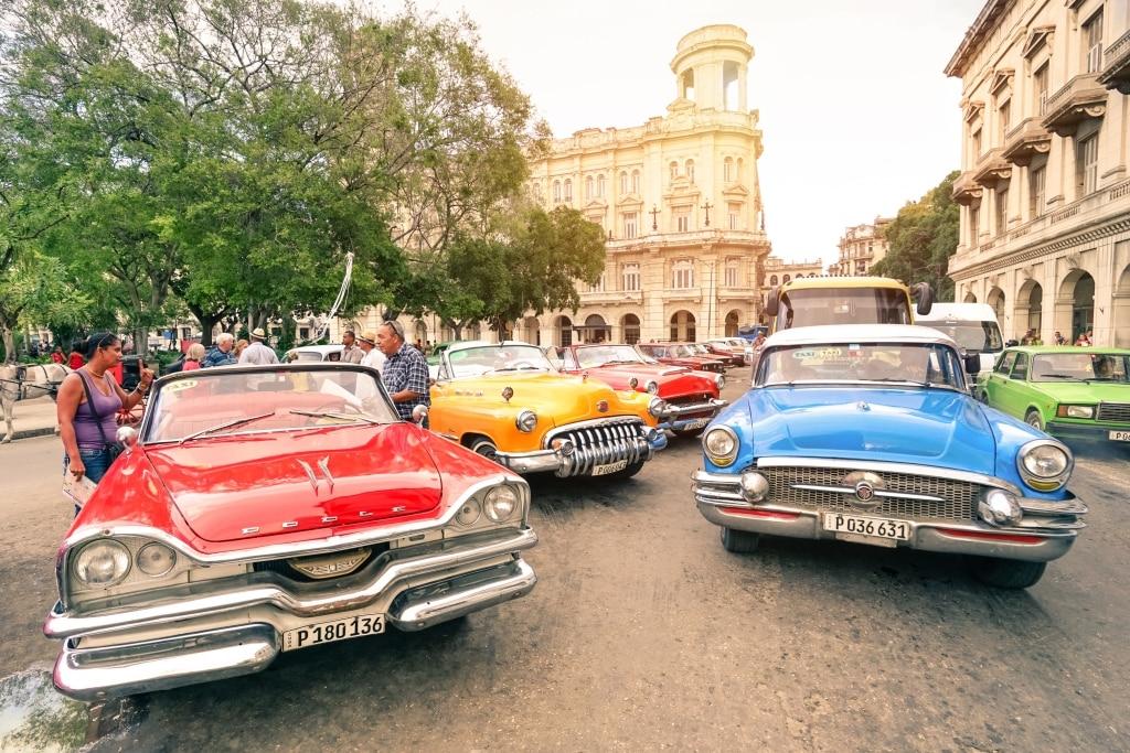 Oldtimers in Havana, Cuba