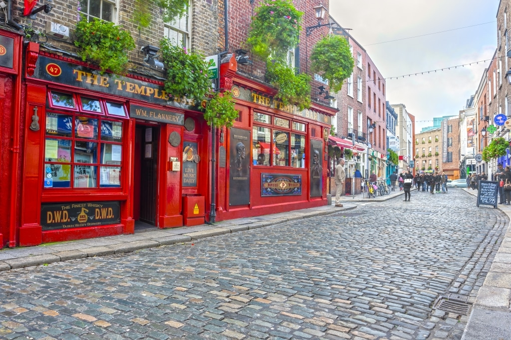 Temple Bar in Dublin, Ierland