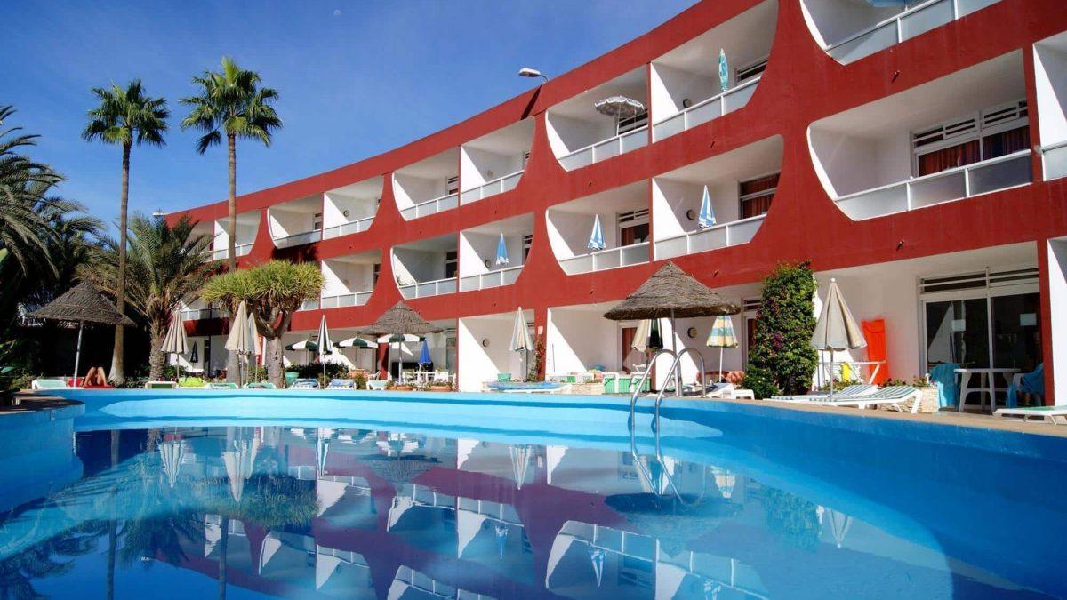 Appartementencomplex Ecuador in Playa del Ingles op Gran Canaria, Canarische Eilanden, Spanje