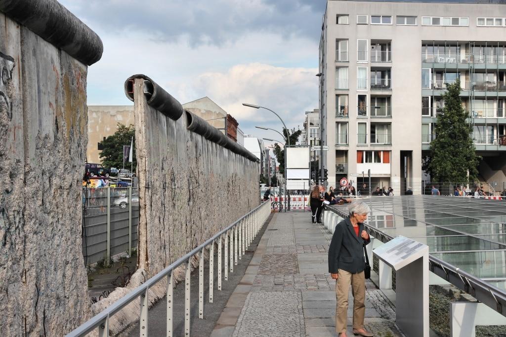 De Berlijnse Muur in Berlijn, Duitsland