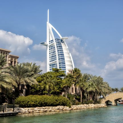 Burj al Arab in Dubai, Verenigde Arabische Emiraten