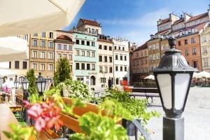 Centrum van Warschau, Polen