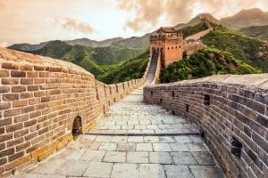 Chinese muur in China
