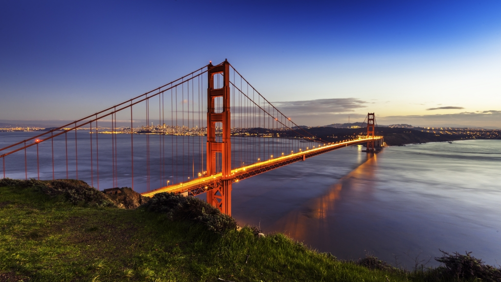 Golden Gate Bridge in San Francisco, Verenigde Staten