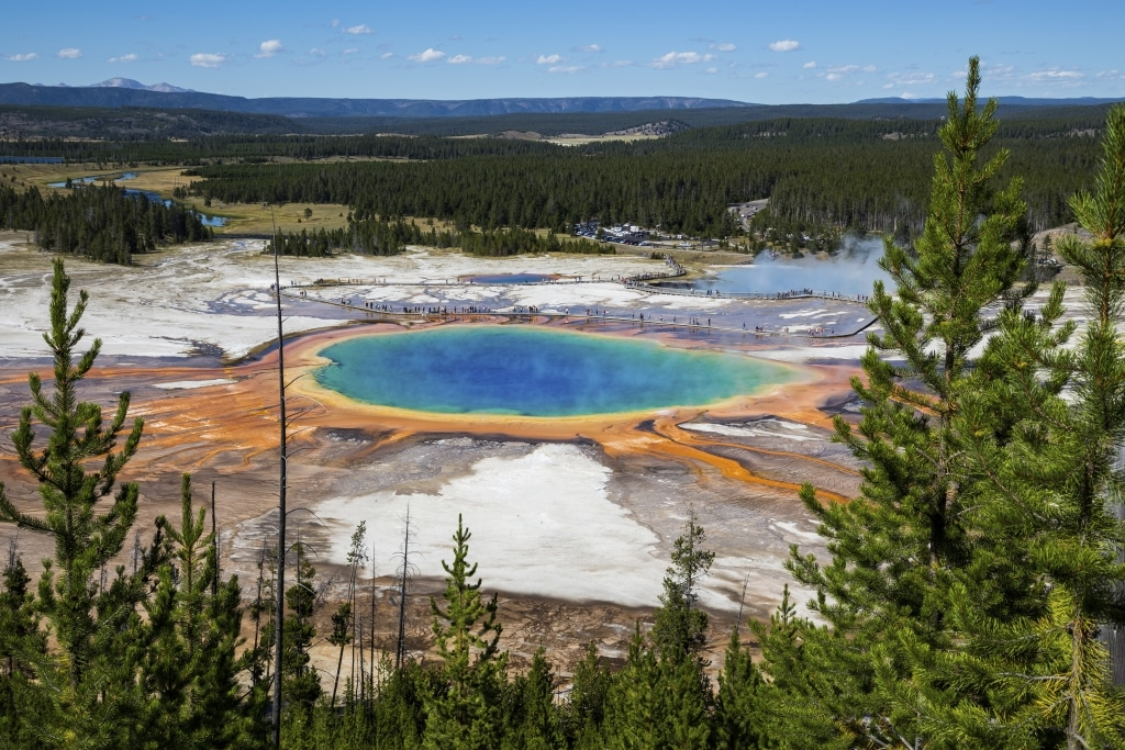 Grand Prismatic Spring in Yellowstone National Park, Verenigde Staten