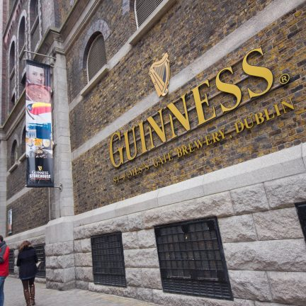 Guinness Storehouse in Dublin, Ierland