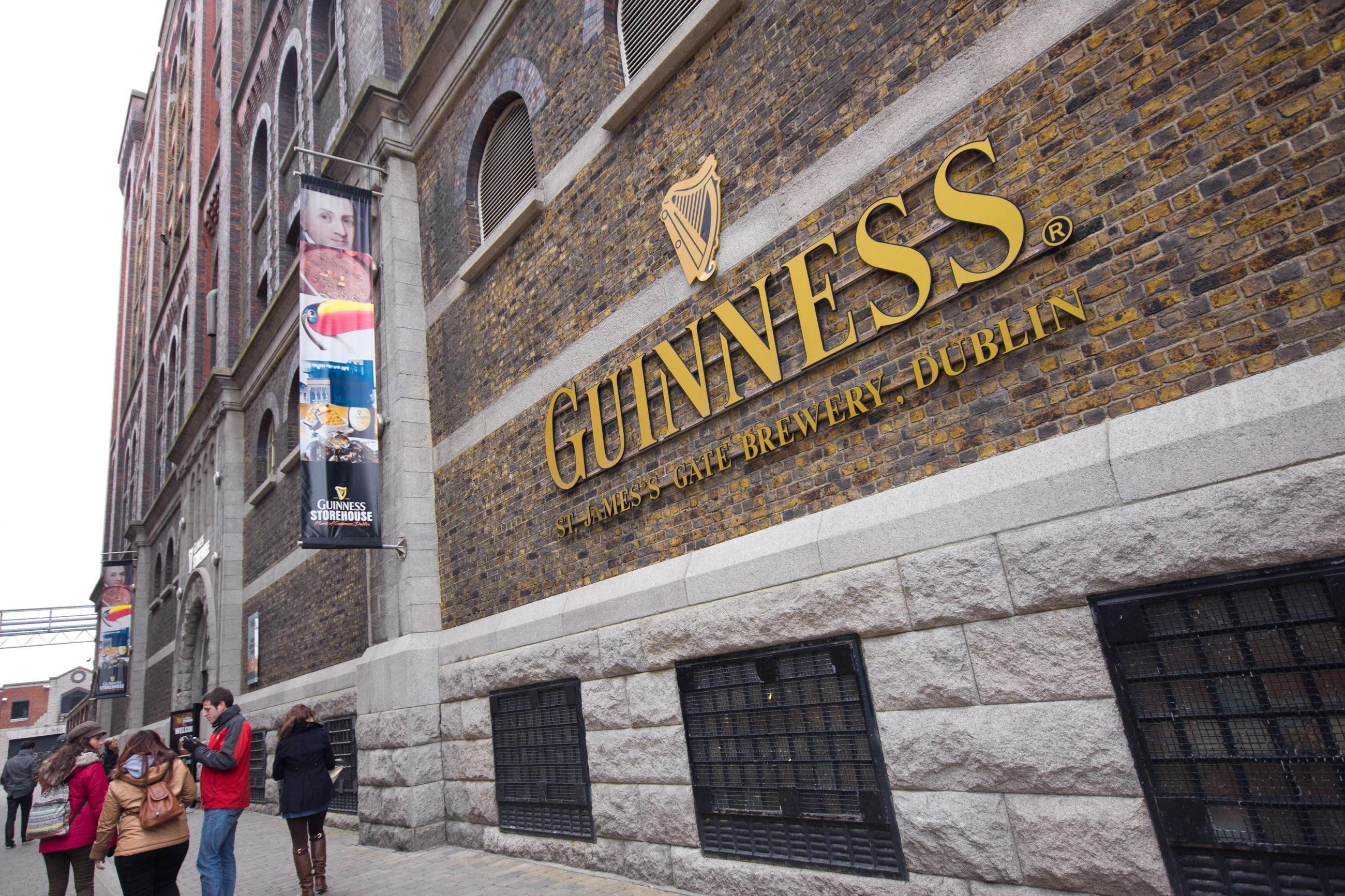 Guinness Storehouse in Dublin, Ierland