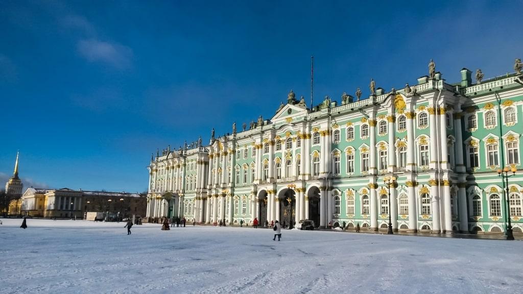 Hermitage in Sint-Petersburg, Rusland