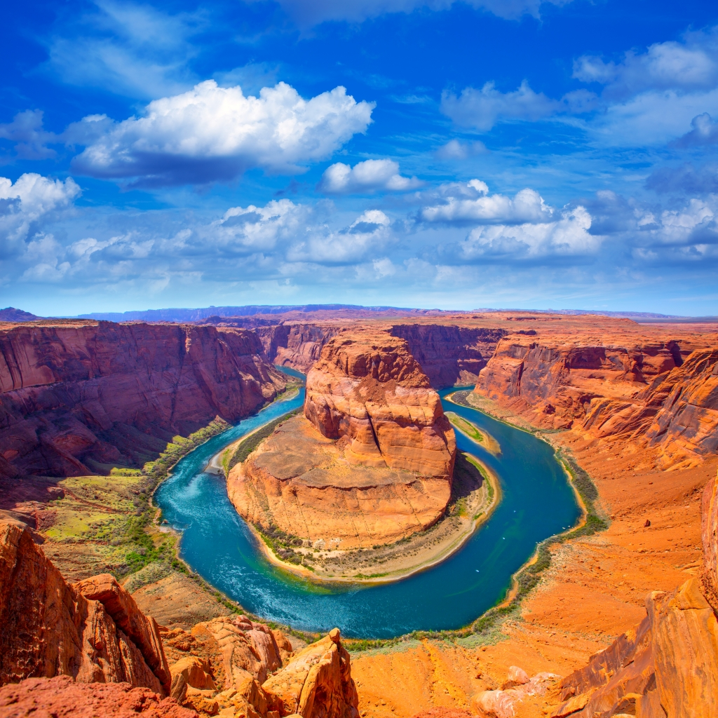 Horseshoe Bend in Arizona, Verenigde Staten