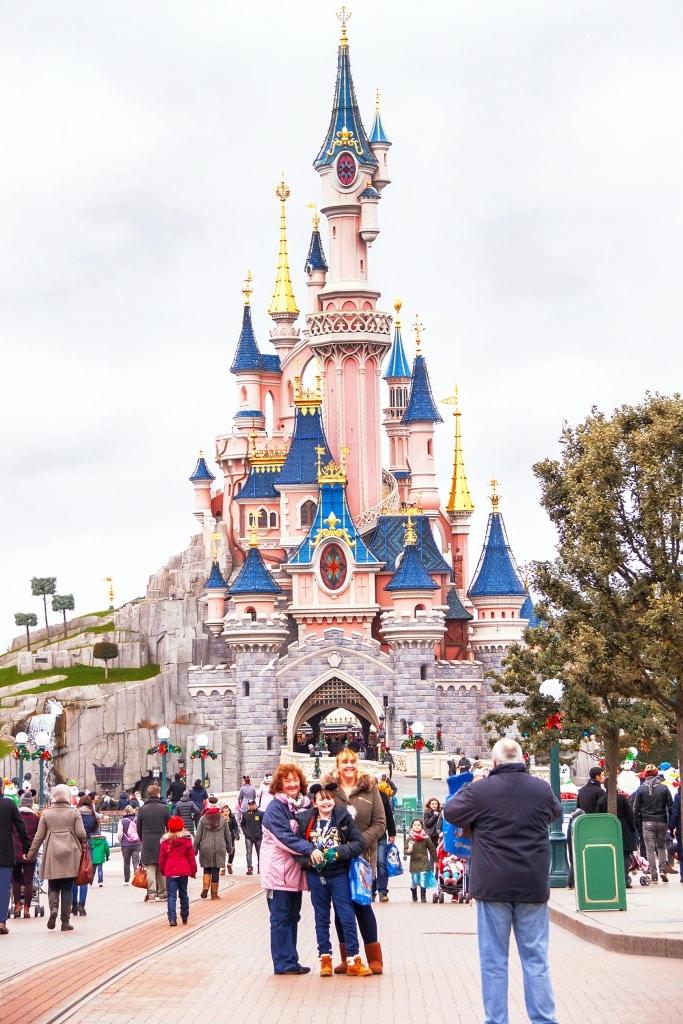Kasteel van Doornroosje in Disneyland Parijs, Frankrijk