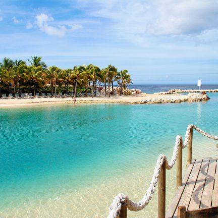 Mambo Beach op Curaçao