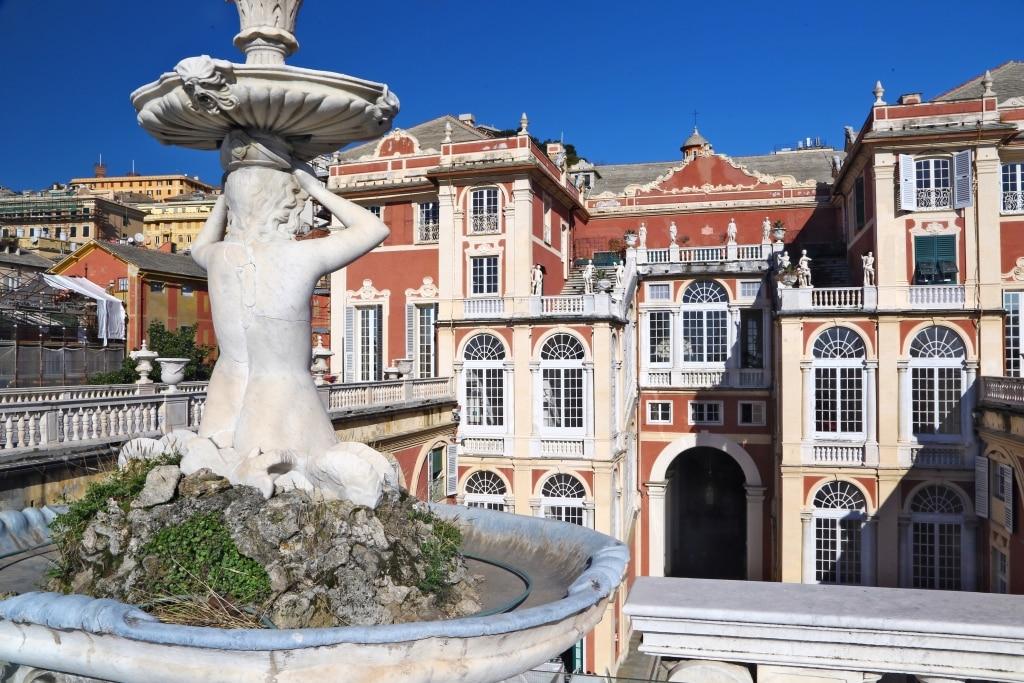 Palazzo Reale in Genua, Italië