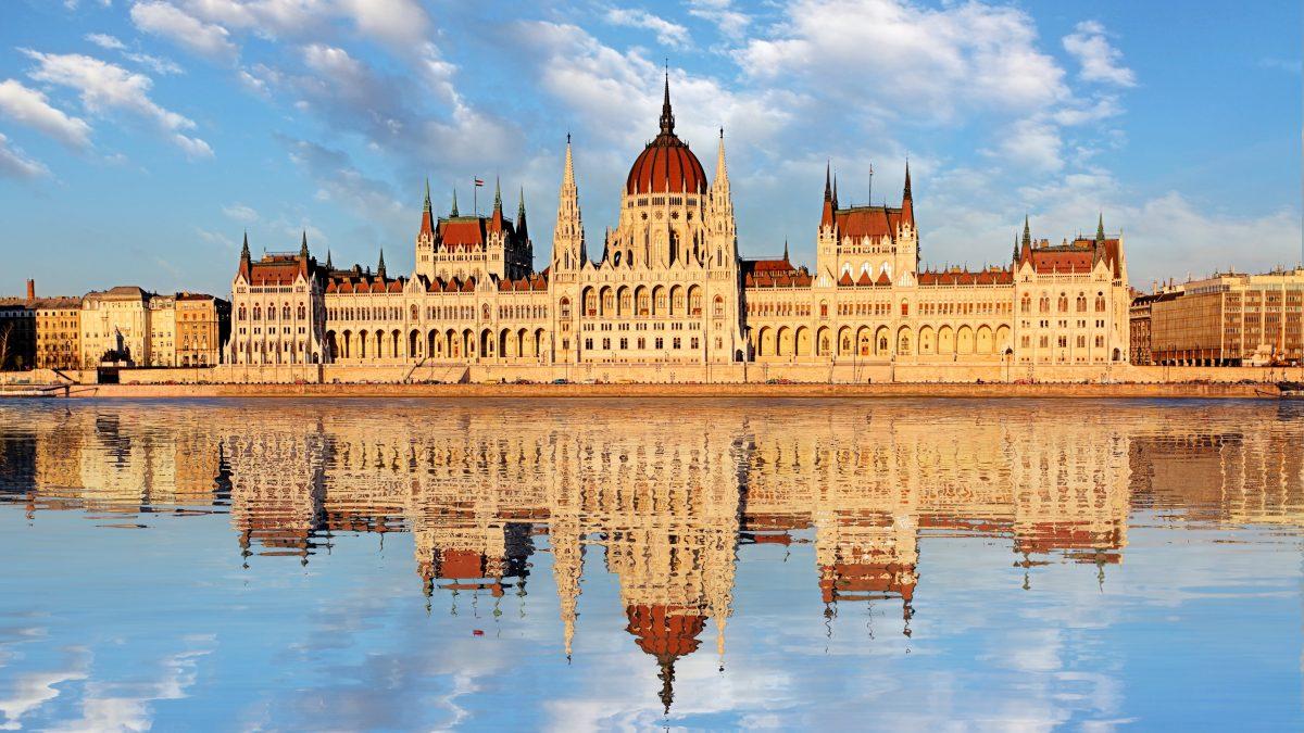 Parlementsgebouw in Boedapest, Hongarije