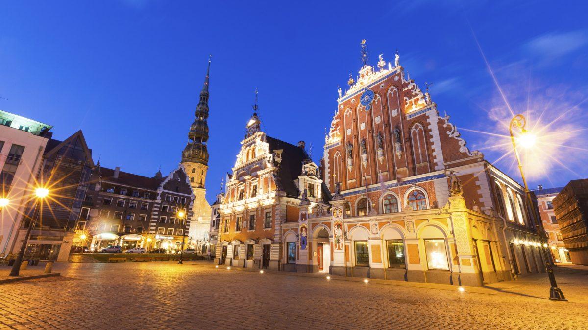 Stadscentrum van Riga, Letland