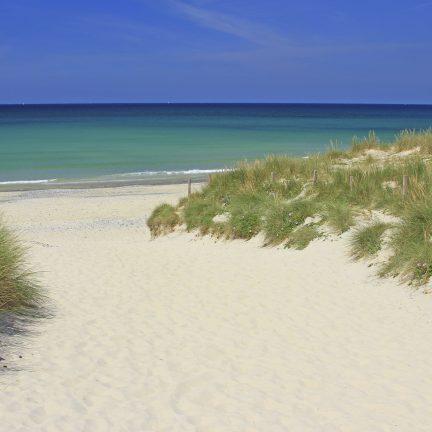 Strand en duinen in Frankrijk