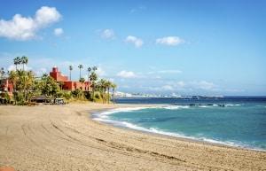 strand zee benalmadena costa del sol spanje