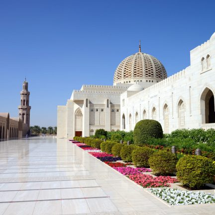 Sultan Qaboes-moskee in Muscat, Oman