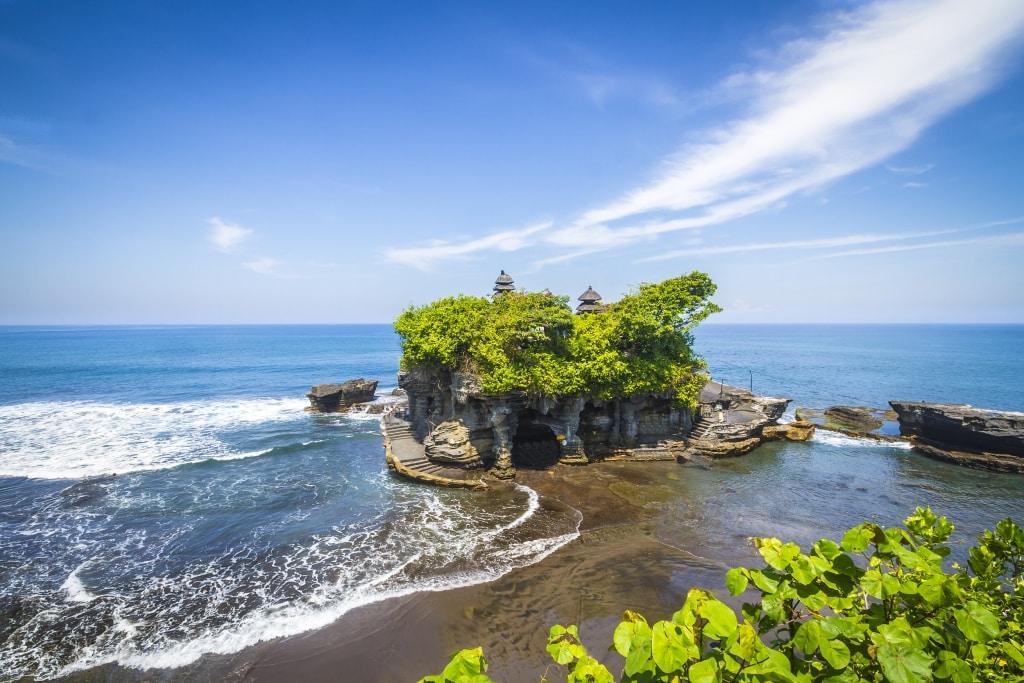 Tempel van Tanah Lot op Bali, Indonesië