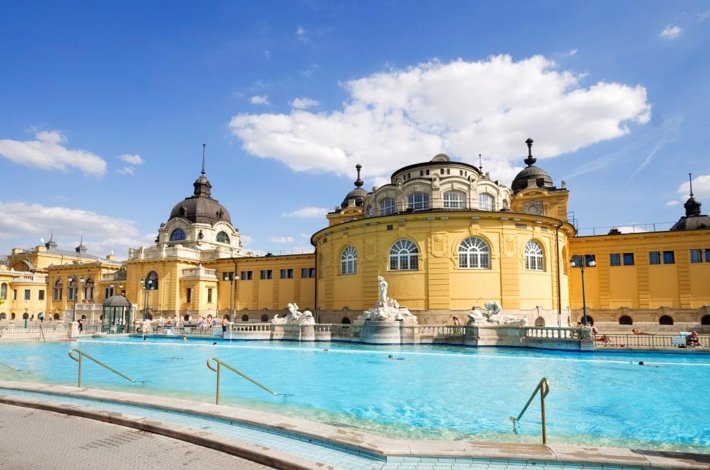 Thermale baden in Boedapest, Hongarije