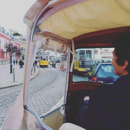 TukTuk in Lissabon, Portugal