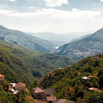 uitzicht vallei galicnik macedonie