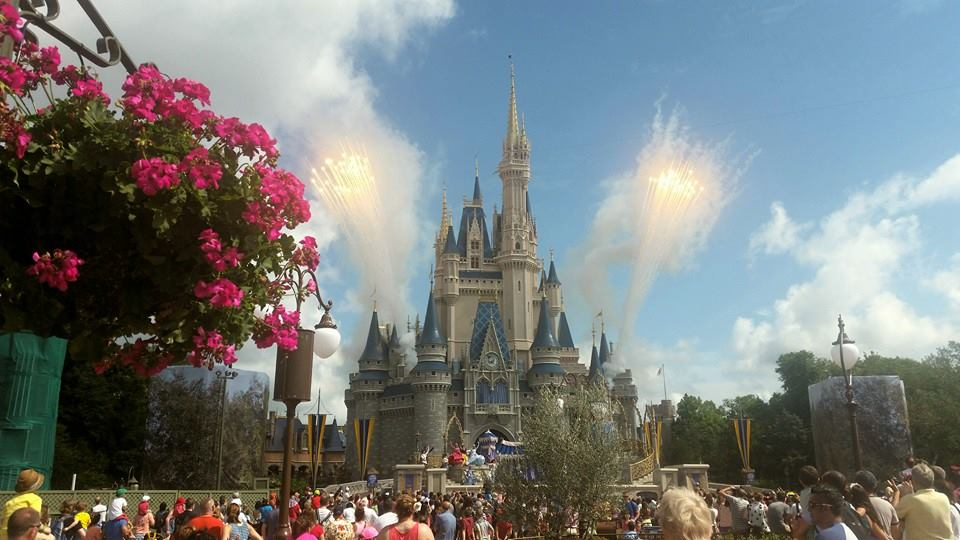 Disneyworld Magic Kingdom in Orlando, Florida, Amerika