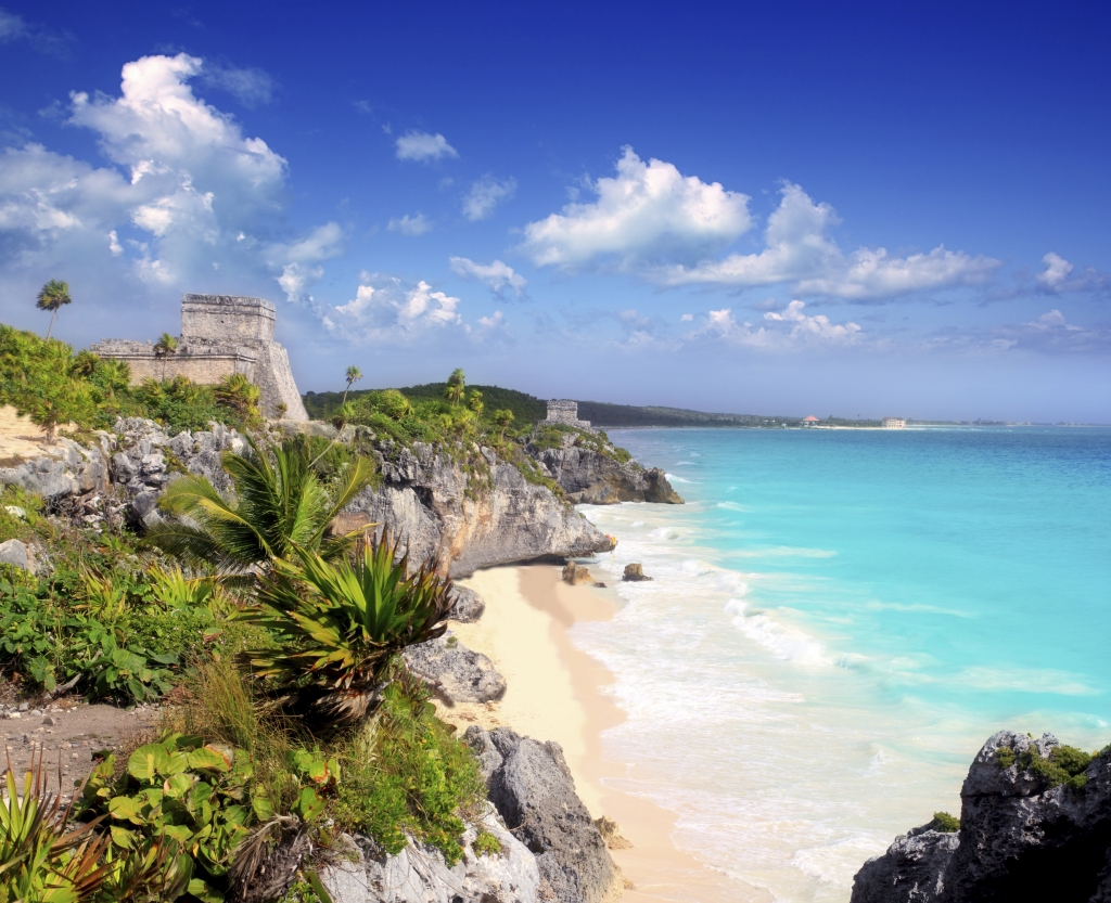 El Castillo in Tulum, Mexico