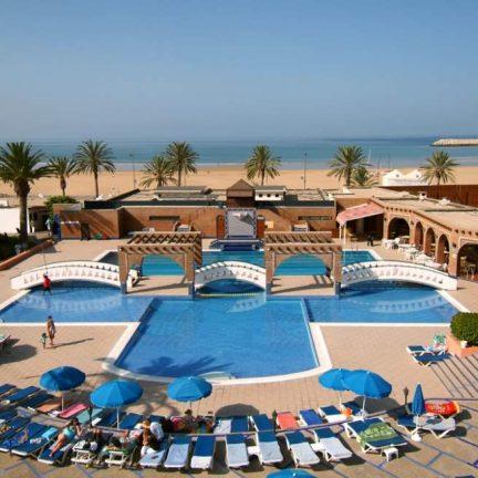 Hotel Al Moggar Garden Beach in Agadir, Marokko