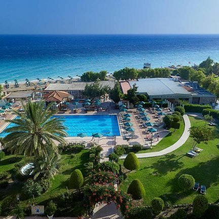 Hotel Blue Bay Beach op Rhodos