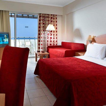 Hotelkamer in hotel Blue Bay Beach op Rhodos