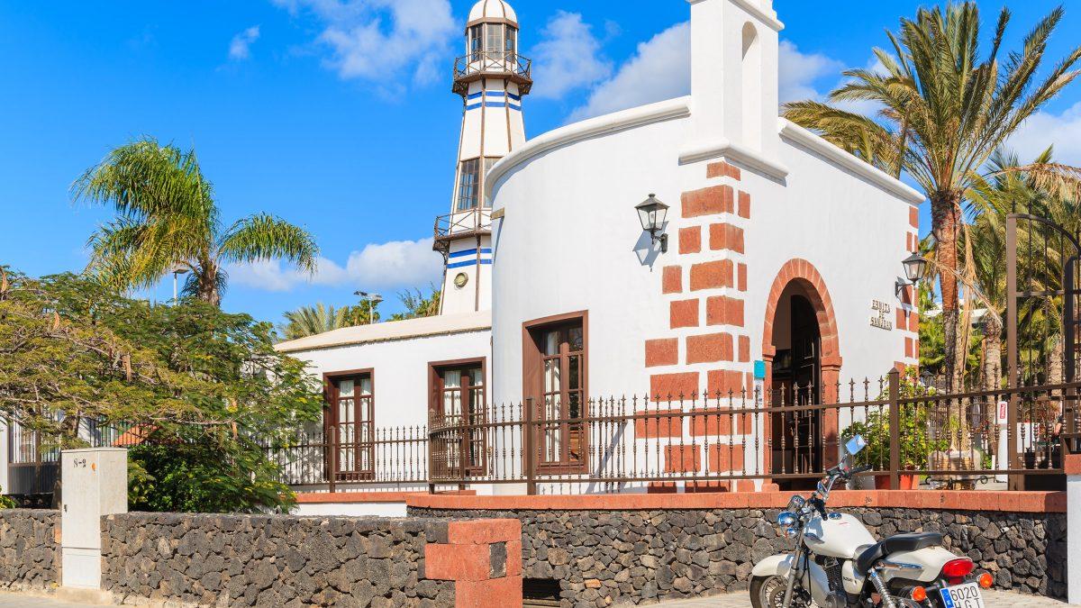 Kerk op Lanzarote, Canarische Eilanden