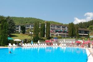 Makpetrol Hotel in Ohrid, Macedonië