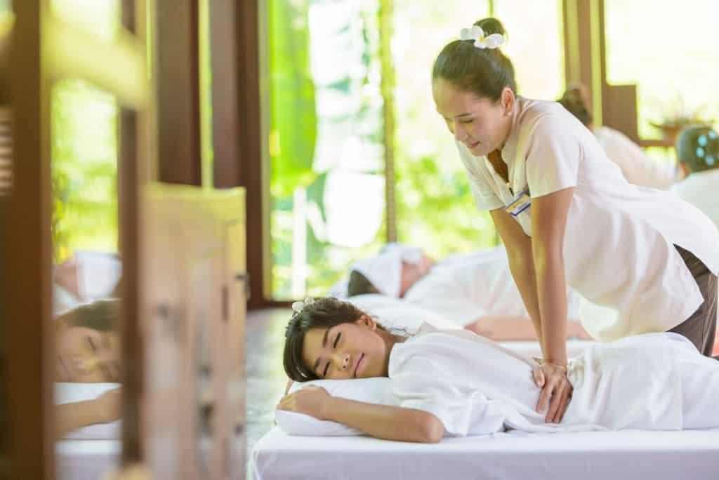 Massage in Khao Lak Oriental Resort in Khao Lak, Thailand