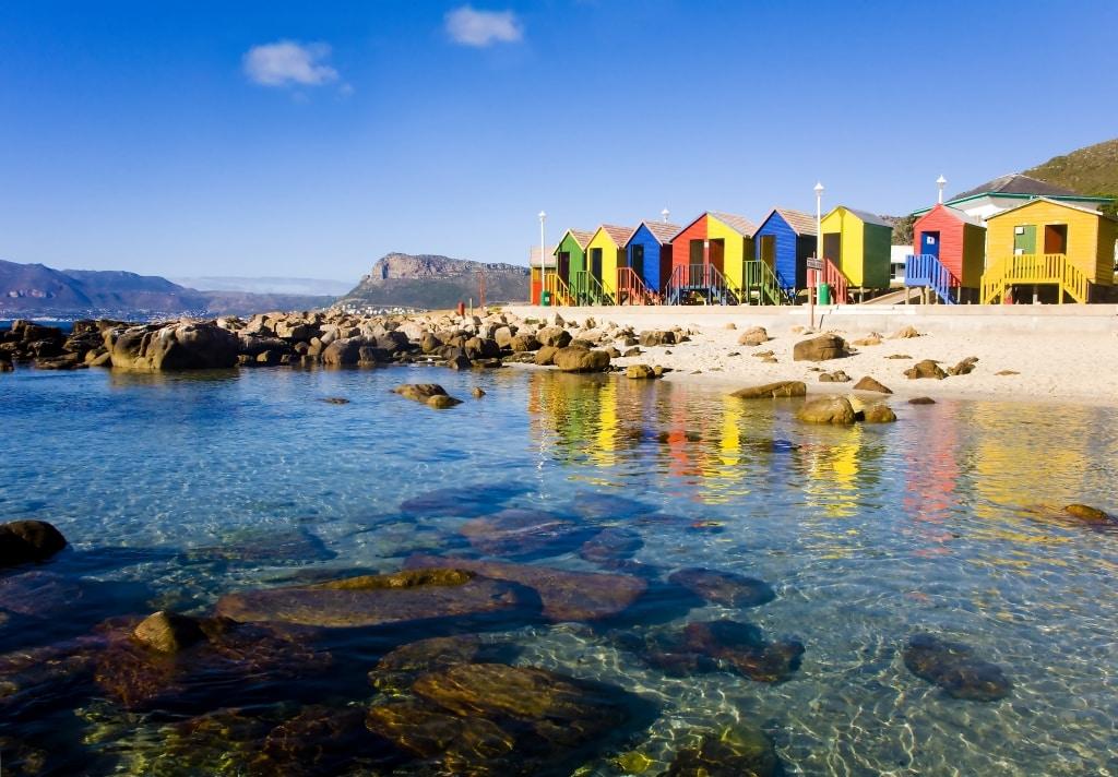 St. James Beach in Kaapstad, Zuid-Afrika