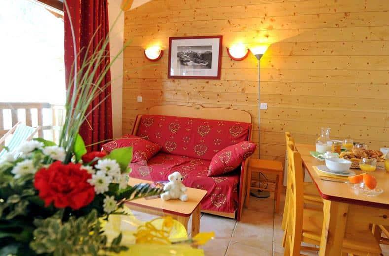 Appartement in Les Flocons d'Argent in Aussois, Frankrijk