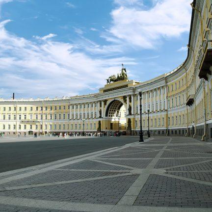 Hermitage Museum in St. Petersburg, Rusland