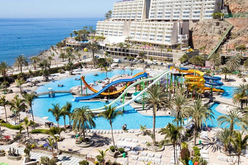 Hotel Paradise Lago Taurito op Gran Canaria, Canarische Eilanden