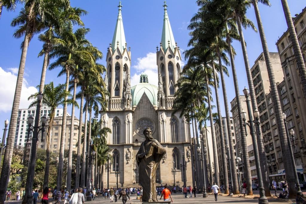 Kathedraal van São Paulo, Brazilië