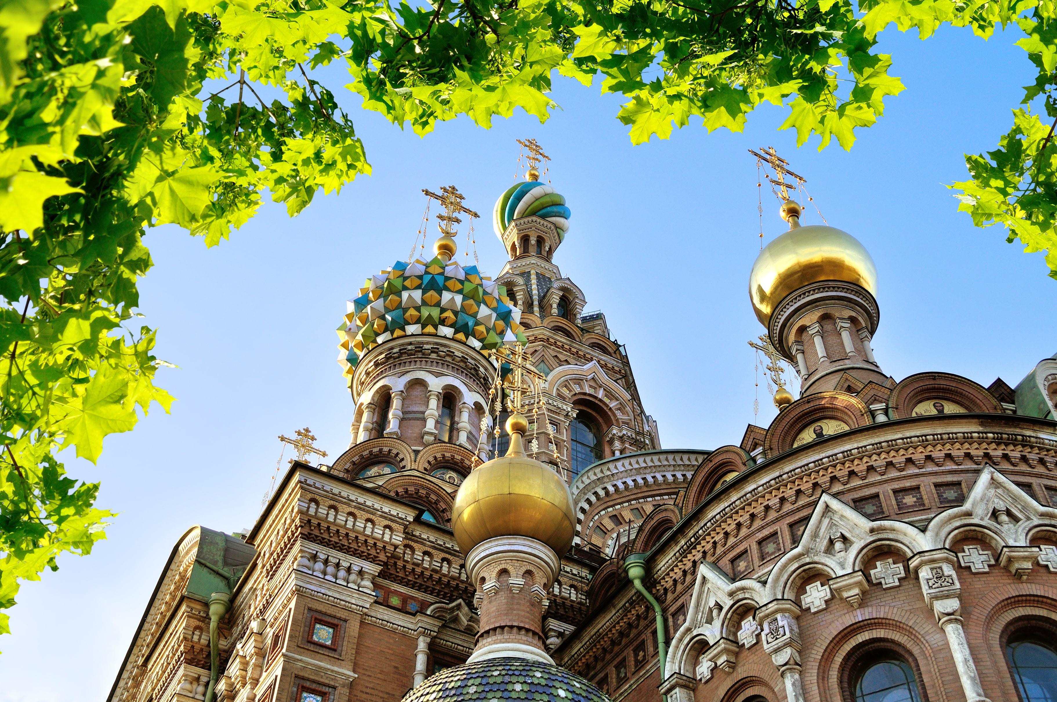 Kerk van de Verlosser op het Bloed in St. Petersburg, Rusland
