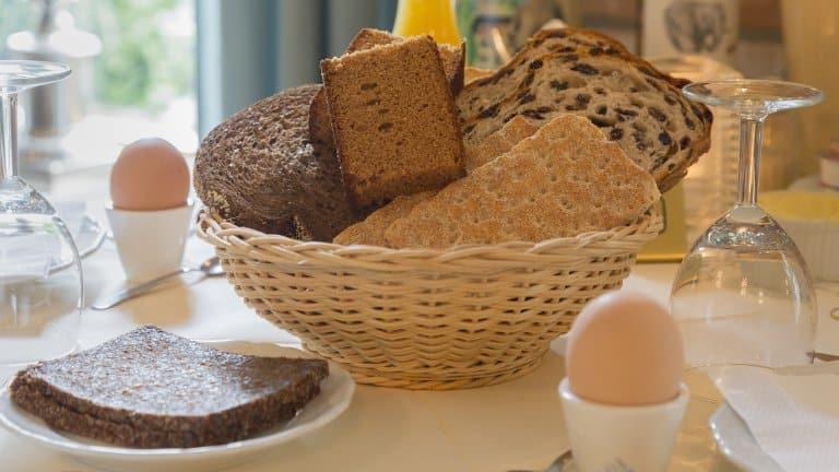 Ontbijt in Hotel Drift, Dwingeloo, Drenthe