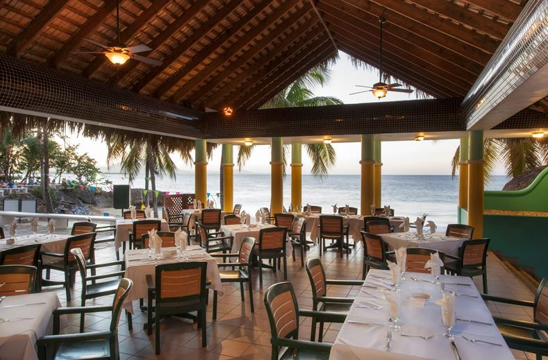 Restaurant van Casa Marina Reef Resort in Sosua, Dominicaanse Republiek