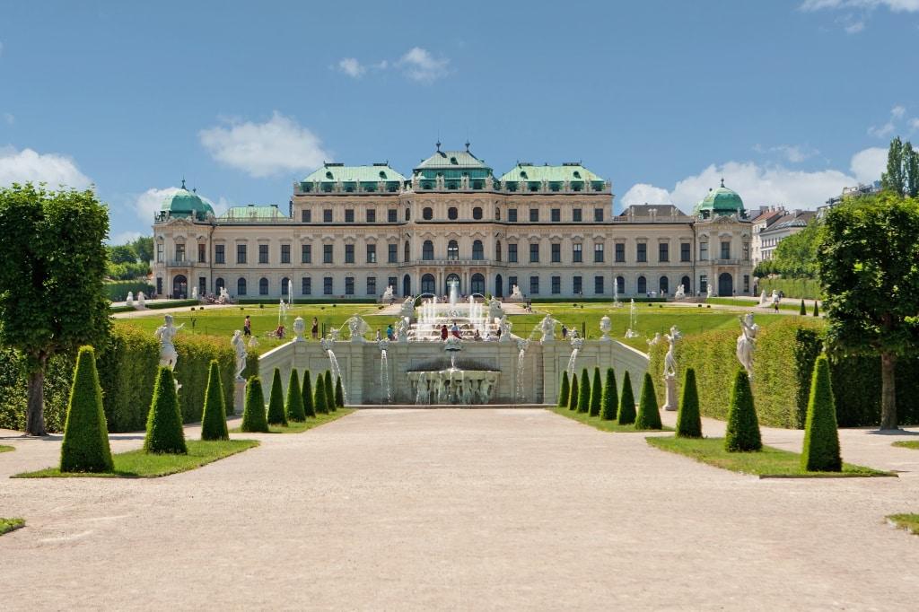 Slot Belvedere in Wenen, Oostenrijk