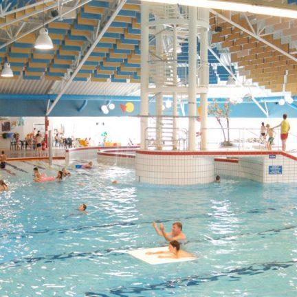 Zwembad in Kustpark Texel in De Koog, Waddeneilanden