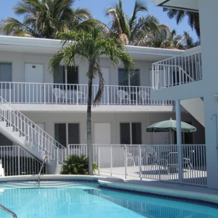Zwembad Summerland Suites in Fort Lauderdale, Florida, Amerika