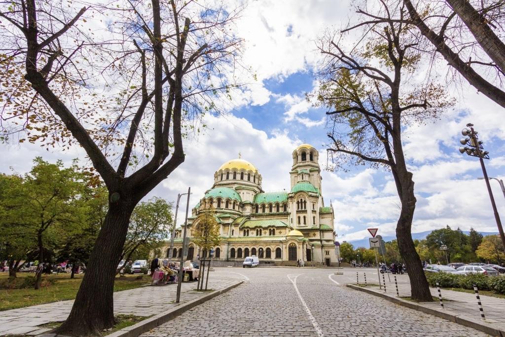 Alexander Nevski Kathedraal in Sofia, Bulgarije