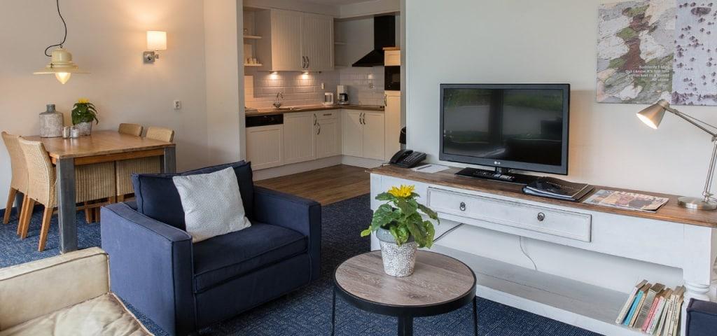 Appartement van WestCord Residentie Boschrijck op Terschelling