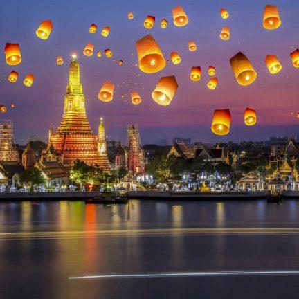 Ballonnen in Bangkok, Thailand