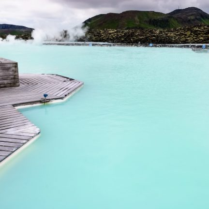 Blue Lagoon in IJsland