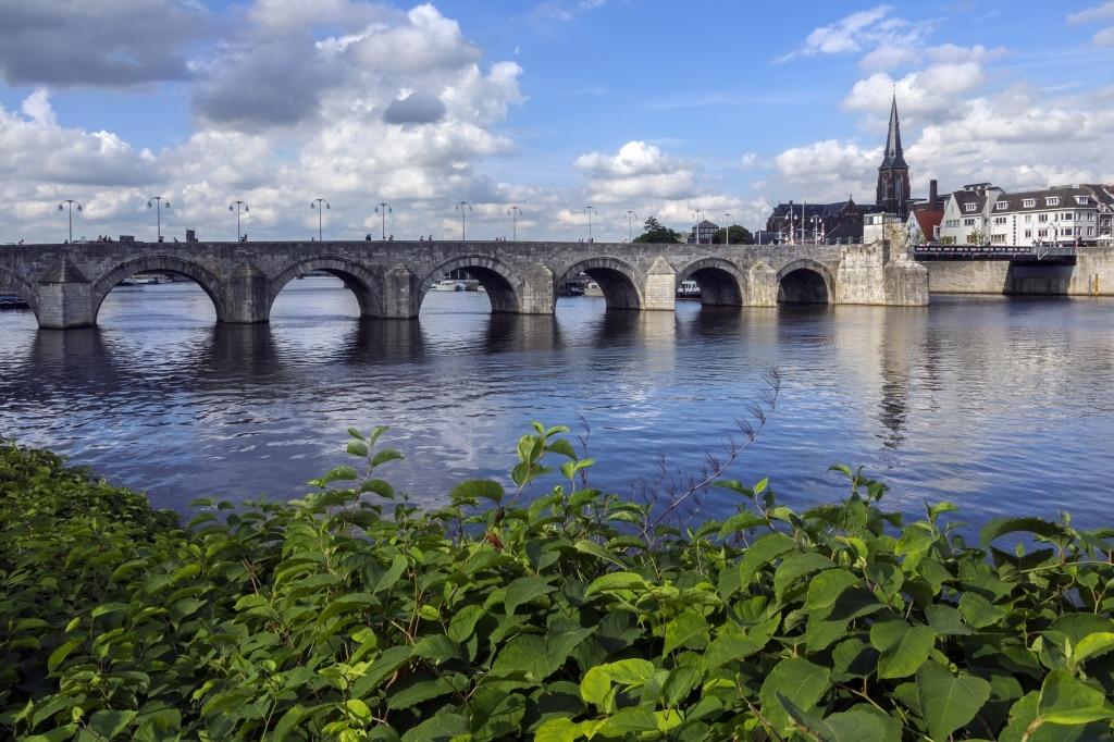 Brug in Maastricht, Limburg